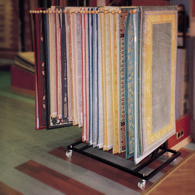 Rug And Carpet Display Stands Clamps