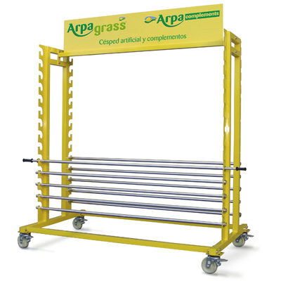 Artificial Turf display stands